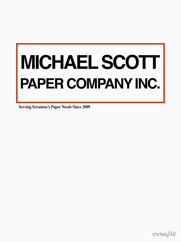 TShirtGifter presents: Michael Scott Paper Company | Unisex T-Shirt