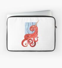 Magic Octopus - Red Laptop Sleeve