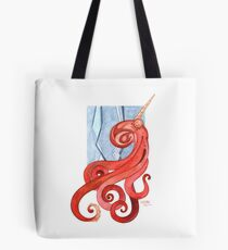Magic Octopus - Red Tote Bag