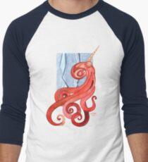 Magic Octopus - Red Men's Baseball ¾ T-Shirt