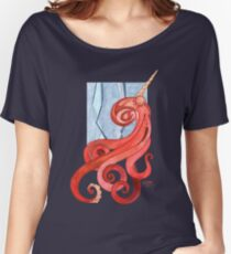 Magic Octopus - Red Women's Relaxed Fit T-Shirt