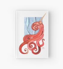 Magic Octopus - Red Hardcover Journal