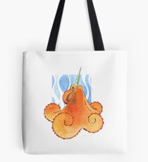 Magic Octopus - Orange Tote Bag