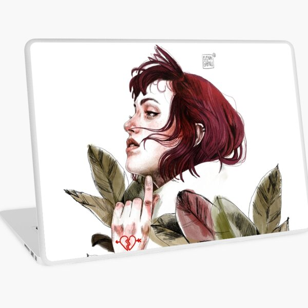 Broken heart Laptop Skin
