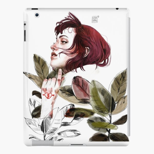 Broken heart iPad Snap Case