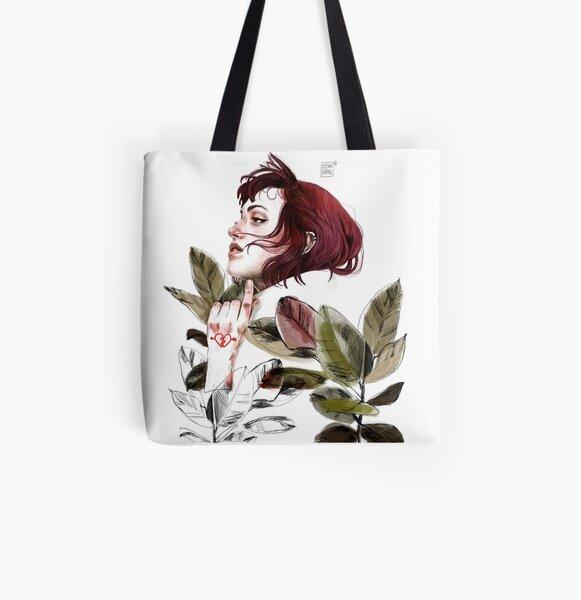 Broken heart All Over Print Tote Bag