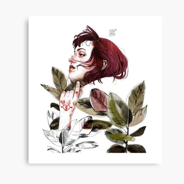 Broken heart Canvas Print