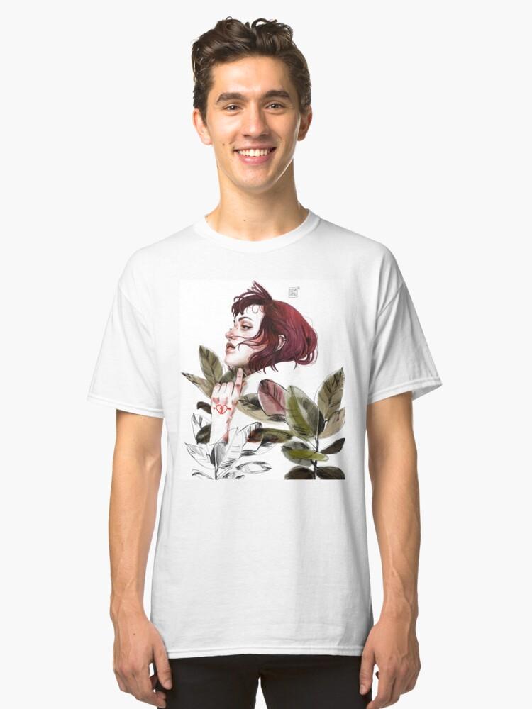 Vista alternativa de Camiseta clásica Broken heart