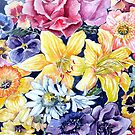 """Flower """"Carpet"""" by Marie Theron"""
