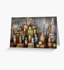 Apothecary - For all your Aches & Pains  Greeting Card