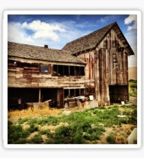 Weathered Barn in Washington State Wine Country  Sticker