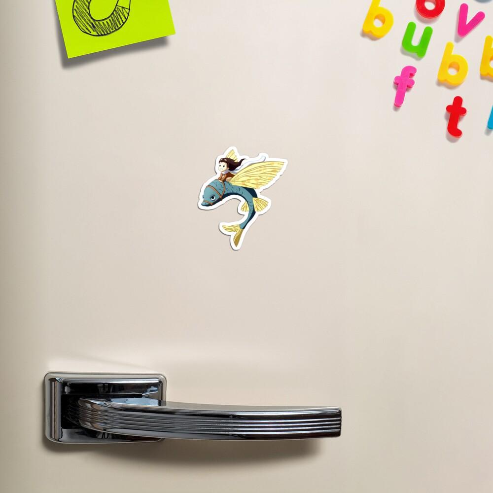Flying Fish Magnet