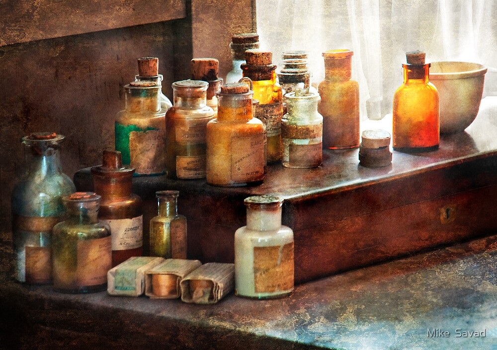 Apothecary - Chemical Ingredients  by Michael Savad