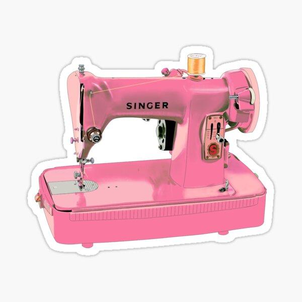 The pink Singer sewing machine Sticker