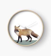 Fox on Sage Clock
