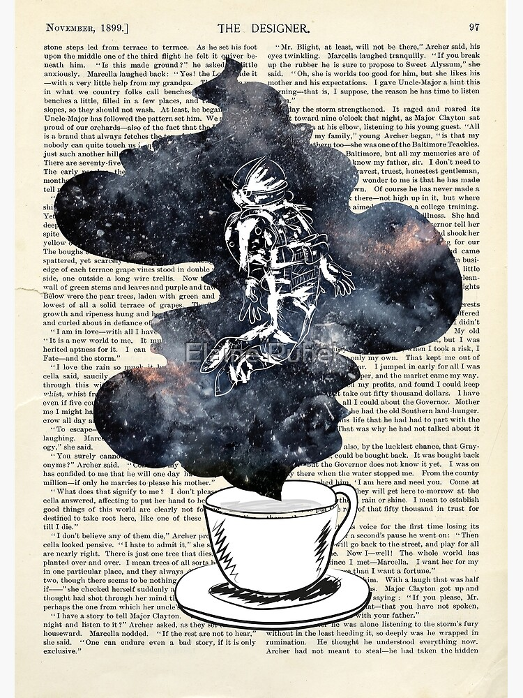 A Cup of Dreams - Astronaut/Universe by Chili-Ice