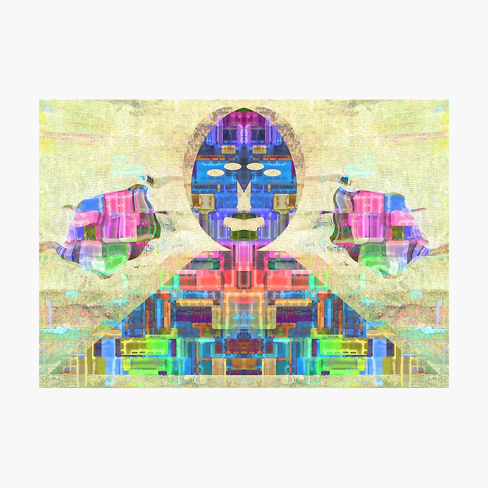 Pyramid Sun god Egyptian Wall Print - Pyramid Wall Decor