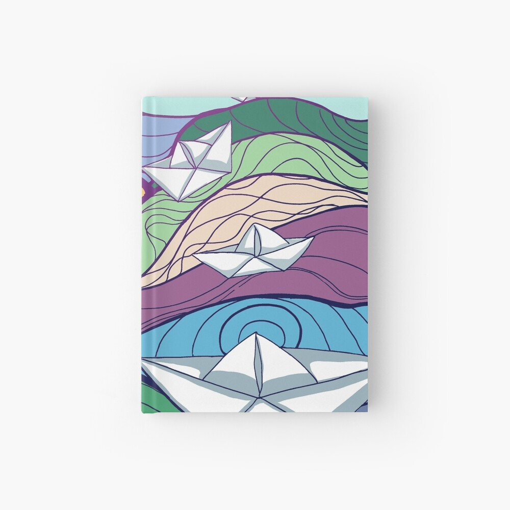 Paper Boats Hardcover Journal