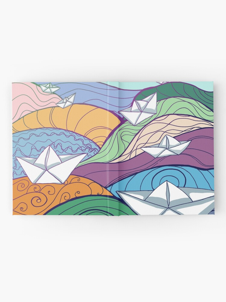 Alternate view of Paper Boats Hardcover Journal