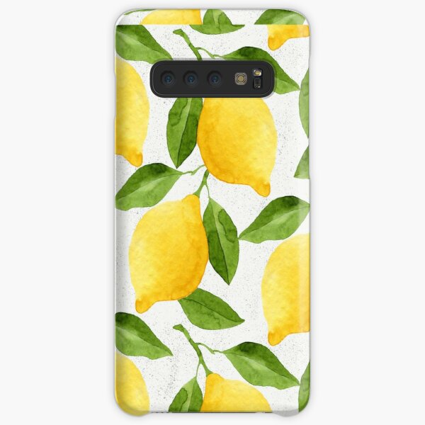 Watercolor Lemon Pattern Samsung Galaxy Snap Case