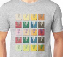 Vintage Computer Diskettes  Unisex T-Shirt