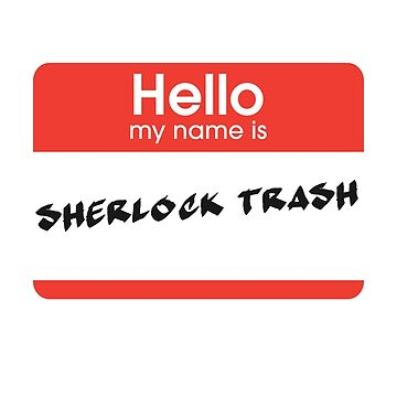 Sherlock Trash by periphescence