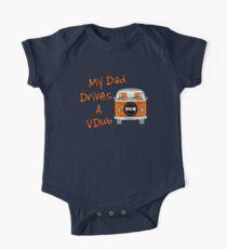 My Dad Drives a VDub (Orange) Kids Clothes