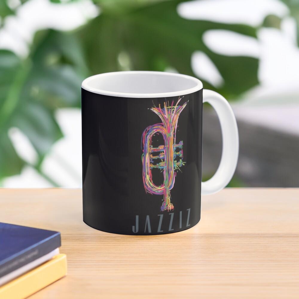 """JAZZIZ """"Trumpet"""" Mug"""