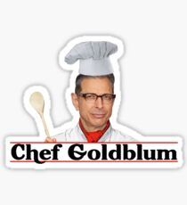 Chef Goldblum Sticker