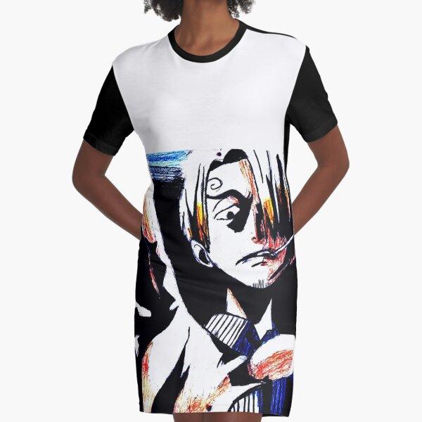 one piece. Graphic T-Shirt Dress