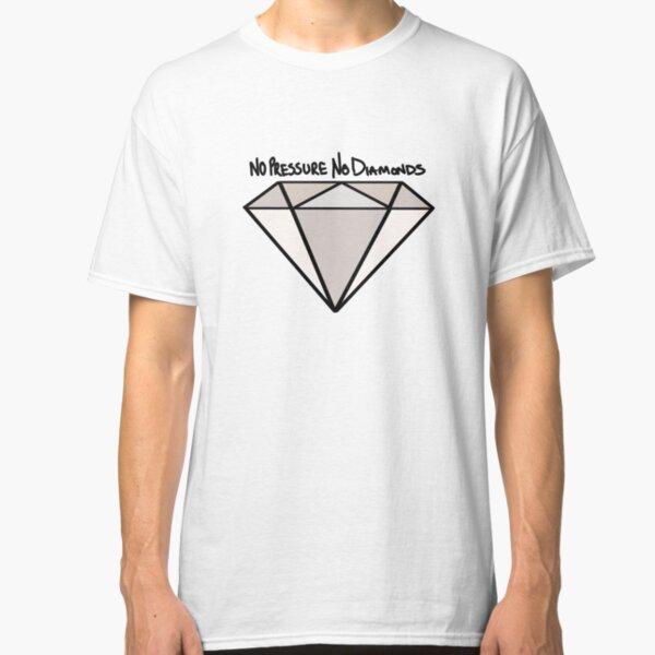 BJJ No Pressure No Diamonds Classic T-Shirt