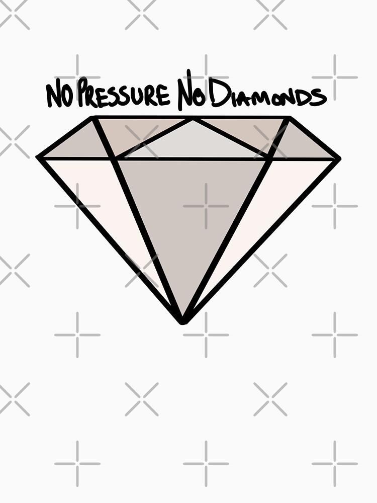 BJJ No Pressure No Diamonds by Energetic-Mind