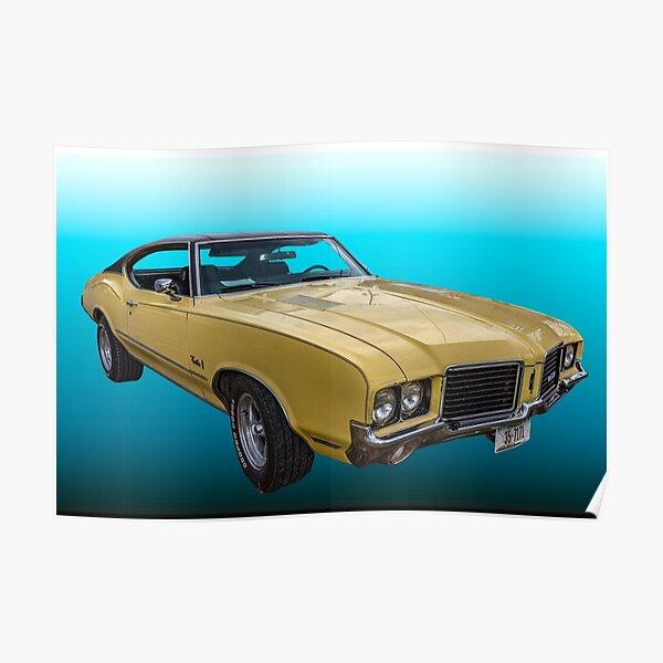 1972 Oldsmobile Cutlass S Poster