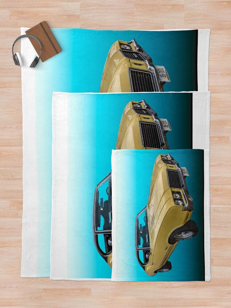 Alternate view of 1972 Oldsmobile Cutlass S Throw Blanket