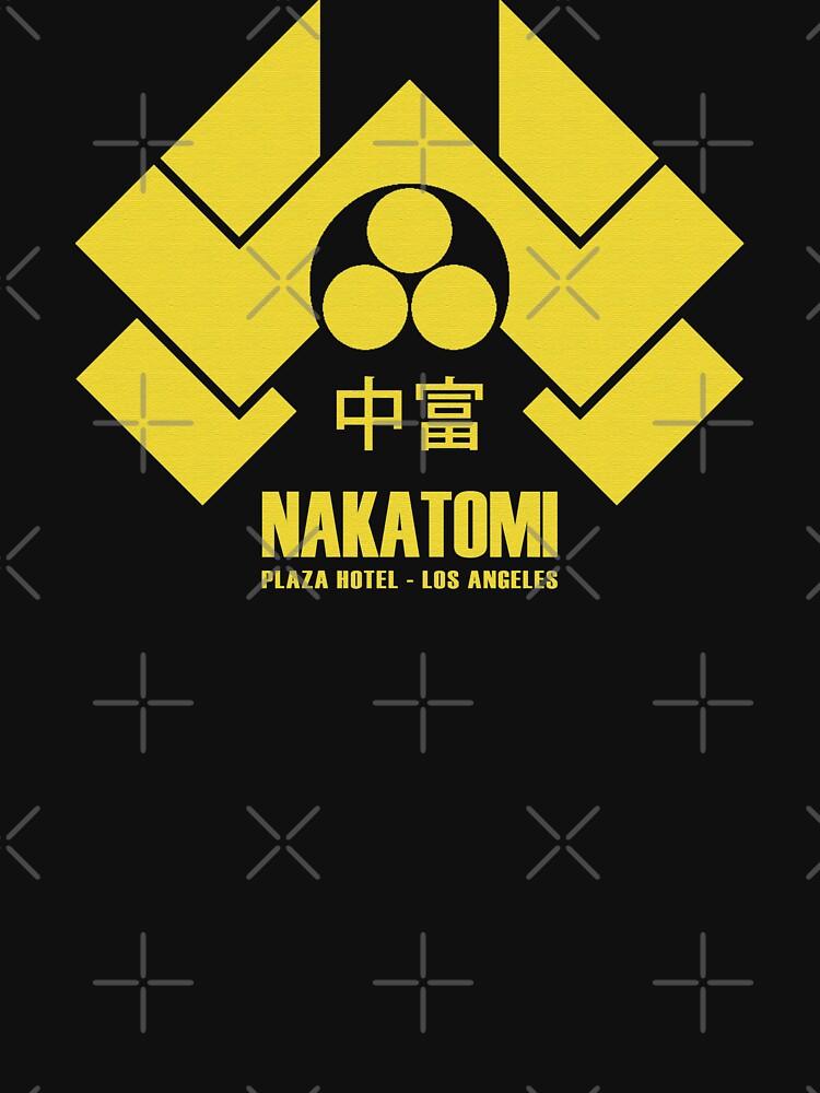 TShirtGifter presents: Nakatomi Plaza | Unisex T-Shirt