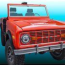 1977 Ford Bronco by Bryan D. Spellman