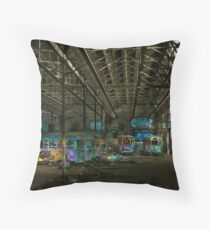 urban decay - sydney tramsheds Throw Pillow