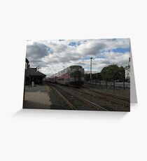 1711 MBTA Commuter Rail (OUTBOUND) Greeting Card