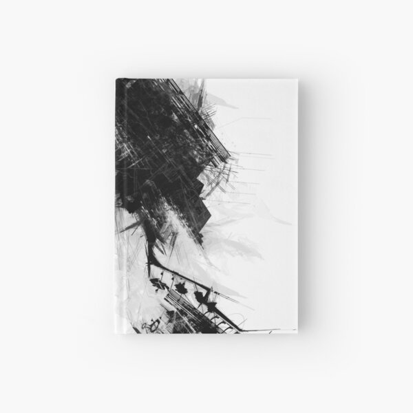 Abstract 015 Hardcover Journal