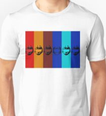 Red vs. Blue (group one) Unisex T-Shirt