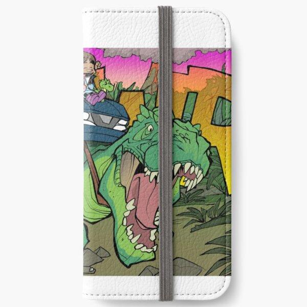 Riding a T-Rex! iPhone Wallet