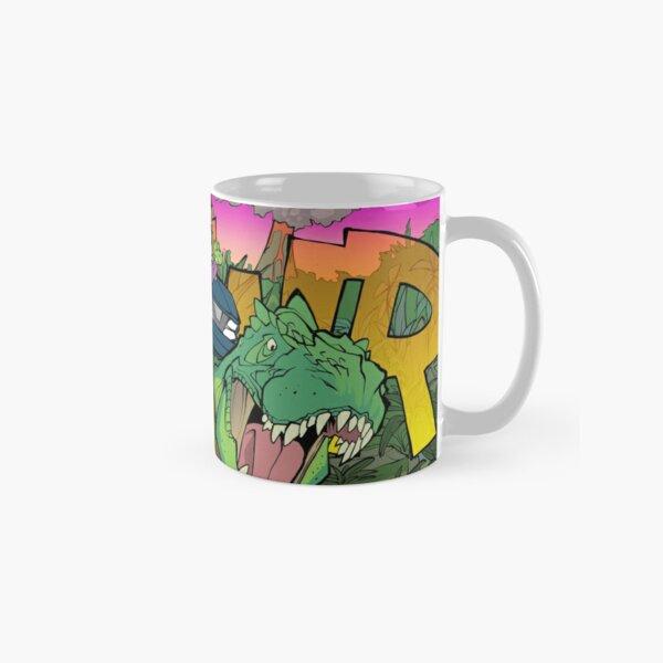 Riding a T-Rex! Classic Mug