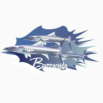 Barracuda by laillustrator