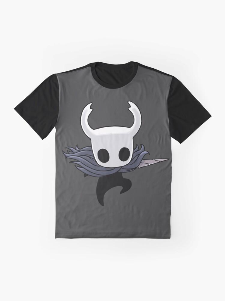 Vista alternativa de Camiseta gráfica Hollow Knight Attack