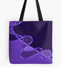 Purple Expression Tote Bag