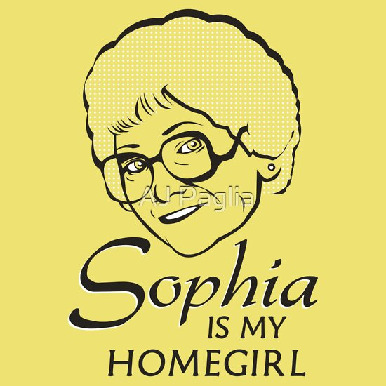 TShirtGifter presents: Sophia is my Homegirl