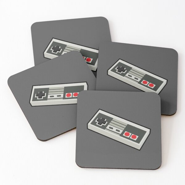 Classic Controller Coasters (Set of 4)
