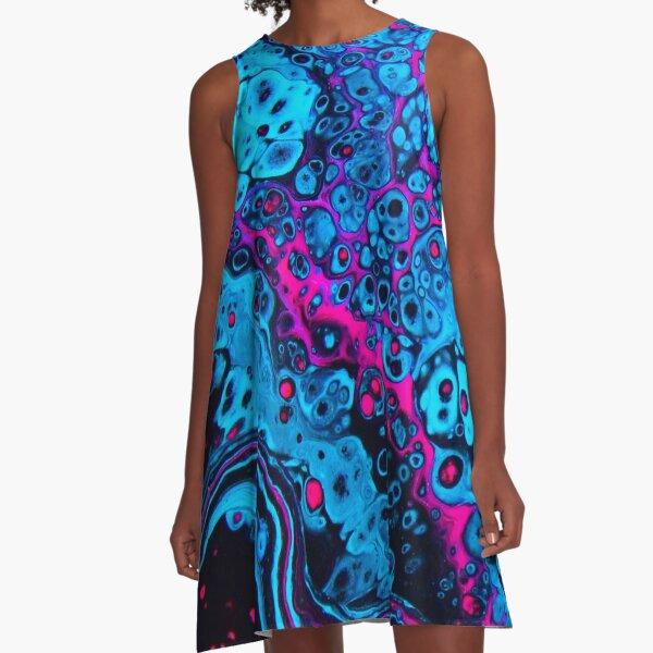 Blacklight A-Line Dress