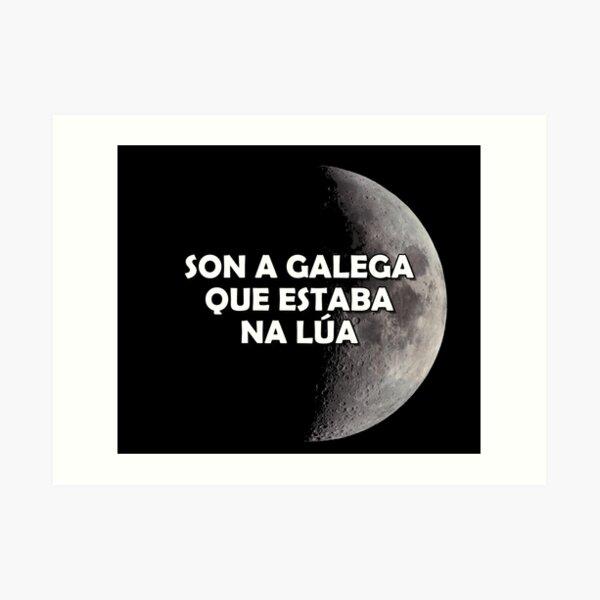 Son a galega que estaba na lúa - versión 1 Lámina artística