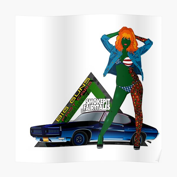 Penelope GOAT GTO Triangle Poster